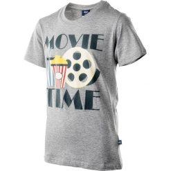T-shirty chłopięce: Koszulka MOVIE JR LIGHT GREY 146