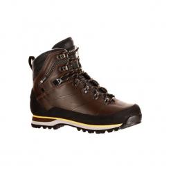 Buty trekkingowe TREK 900 męskie. Brązowe buty trekkingowe męskie FORCLAZ, z kauczuku, trekkingowe. Za 599,99 zł.