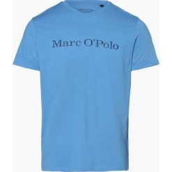 Marc O'Polo - T-shirt męski, niebieski. Niebieskie t-shirty męskie z nadrukiem Marc O'Polo, m, polo. Za 89,95 zł.