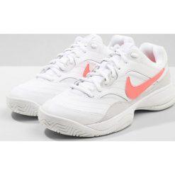 Buty sportowe damskie: Nike Performance COURT LITE Obuwie multicourt white/lava glow/vast grey