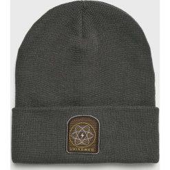 True Spin - Czapka Universe. Czarne czapki zimowe męskie marki True Spin, na zimę, z dzianiny. Za 69,90 zł.
