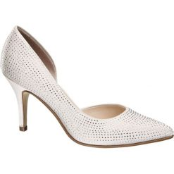 Szpilki: szpilki damskie Catwalk białe