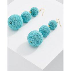 Kolczyki damskie: Kenneth Jay Lane CARNIVAL FISHHOOK Kolczyki turquoise