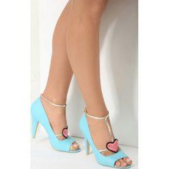 Niebieskie Sandały Aboriginal. Niebieskie sandały damskie vices, na wysokim obcasie. Za 79,99 zł.
