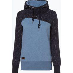 Ragwear - Damska bluza nierozpinana – Nuggie, niebieski. Niebieskie bluzy damskie marki Ragwear, l. Za 309,95 zł.