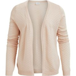Swetry damskie: Krótki kardigan z dekoltem w serek
