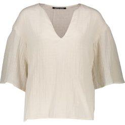 T-shirty damskie: Koszulka w kolorze kremowym