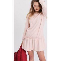 Różowa Sukienka My Type. Czerwone sukienki hiszpanki other, l, mini. Za 69,99 zł.