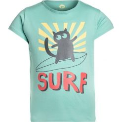 T-shirty chłopięce: La Queue du Chat LONG BOARD  Tshirt z nadrukiem vintage green