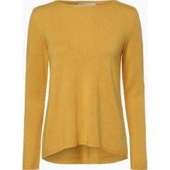 Marie Lund - Sweter damski z czystego kaszmiru, żółty. Żółte swetry klasyczne damskie Marie Lund, l, z dzianiny. Za 449,95 zł.