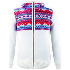 Kama Sweter Damski Merino k5100 S Naturalnie Biały. Białe swetry klasyczne damskie Kama, s, z dzianiny, z kapturem. Za 555,00 zł.