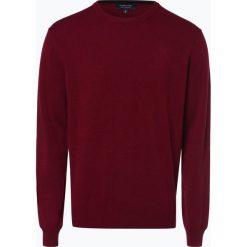 Andrew James - Sweter męski z czystego kaszmiru, lila. Brązowe swetry klasyczne męskie Andrew James, m, z dzianiny. Za 549,95 zł.