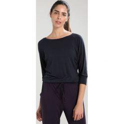 Curare Yogawear SLEEVES Bluzka z długim rękawem midnight blue. Niebieskie bluzki longsleeves Curare Yogawear, s, z elastanu, sportowe. Za 189,00 zł.