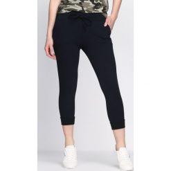Spodnie dresowe damskie: Granatowe Spodnie Dresowe Home