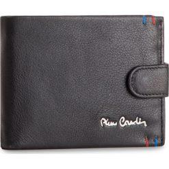 Duży Portfel Męski PIERRE CARDIN - TILAK22 324A Black. Czarne portfele męskie marki Pierre Cardin, ze skóry. Za 109,00 zł.