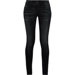 GStar LYNN MID SKINNY  Jeans Skinny Fit joll superstretch. Niebieskie rurki damskie G-Star. Za 459,00 zł.