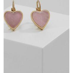 Kolczyki damskie: Dyrberg/Kern CARITA Kolczyki rose quartz