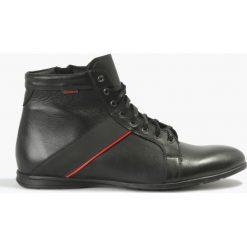 Kozaki czarne Mozart. Czarne buty zimowe męskie marki House. Za 272,99 zł.