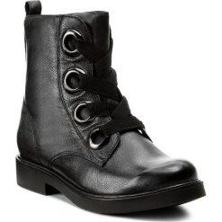 Botki LASOCKI - WI16-MEDIA-02 Czarny. Czarne buty zimowe damskie Lasocki, ze skóry, na obcasie. Za 229,99 zł.