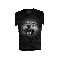 T-shirt UNDERWORLD Ring spun cotton Wilk. Szare t-shirty męskie z nadrukiem marki Underworld, m, z bawełny. Za 59,99 zł.