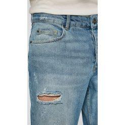 Review - Jeansy. Niebieskie jeansy męskie z dziurami Review. Za 219,90 zł.