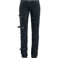 Black Premium by EMP Skarlett Jeansy damskie czarny. Czarne jeansy damskie marki Black Premium by EMP, xl, z poliesteru. Za 244,90 zł.