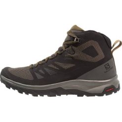 Salomon OUTLINE MID GTX Buty trekkingowe black/beluga/capers. Czarne buty trekkingowe męskie Salomon, z materiału, outdoorowe. Za 649,00 zł.