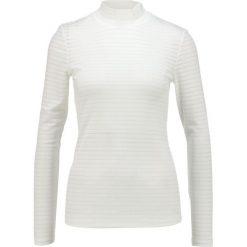 Bluzki damskie: Selected Femme SFLALO HIGHNECK TOP Bluzka z długim rękawem snow white