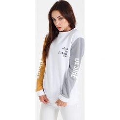 Bluzy rozpinane damskie: Naoko - Bluza Cest la Vie Blanc x Edyta Górniak