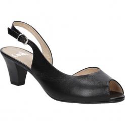 SANDAŁY CAPRICE 9-29500-26. Czarne sandały damskie Caprice. Za 199,99 zł.
