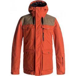 Quiksilver Kurtka Męska Raft Ketchup Red S. Czerwone kurtki sportowe męskie marki Quiksilver, na zimę, m, z materiału, narciarskie. W wyprzedaży za 649,00 zł.
