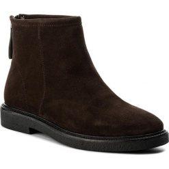 Botki VAGABOND - Christy 4459-140-31 Java. Brązowe buty zimowe damskie Vagabond, z wełny. W wyprzedaży za 309,00 zł.