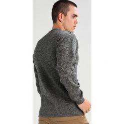 Swetry klasyczne męskie: Armor lux MARIN UNI FOUESNANT Sweter asfalto