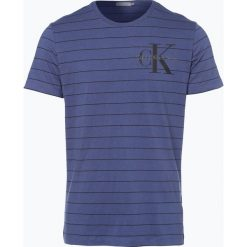 Calvin Klein Jeans - T-shirt męski, niebieski. Niebieskie t-shirty męskie marki Calvin Klein Jeans. Za 229,95 zł.