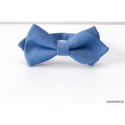 Muchy męskie: Tinata. Niebieska mucha diamond