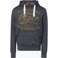 Superdry - Męska bluza nierozpinana, niebieski. Niebieskie bejsbolówki męskie Superdry, l. Za 349,95 zł.