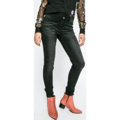 Desigual - Jeansy. Niebieskie jeansy damskie rurki Desigual, z bawełny. W wyprzedaży za 179,90 zł.