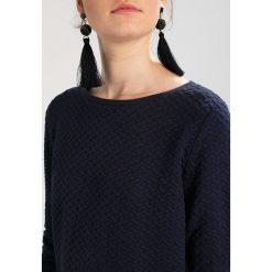 Bluzy rozpinane damskie: TOM TAILOR DENIM STRUCTURE RUFFLE Bluza real navy blue