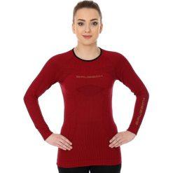 Brubeck Koszulka damska 3D Run PRO z długim rękawem czerwona r. M (LS13140). Czerwone topy sportowe damskie Brubeck, m, z długim rękawem. Za 90,91 zł.