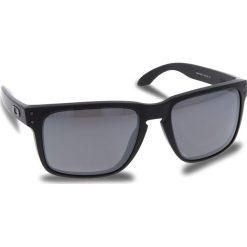 Okulary przeciwsłoneczne OAKLEY - Holbrook Xl OO9417-0559 Mette Black/Prizm Black Polarized. Czarne okulary przeciwsłoneczne męskie aviatory Oakley, z tworzywa sztucznego. W wyprzedaży za 649,00 zł.