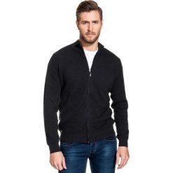 Sweter VILFRIDO SWSR000160. Białe swetry rozpinane męskie Giacomo Conti, na jesień, m, z bawełny, eleganckie, z klasycznym kołnierzykiem. Za 229,00 zł.