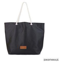 Duża torba Mili Chic MC1 - czarna. Czarne torebki klasyczne damskie Pakamera, z bawełny, duże. Za 151,00 zł.