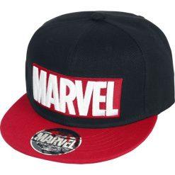 Czapki damskie: Marvel Logo Czapka Snapback czarny/czerwony