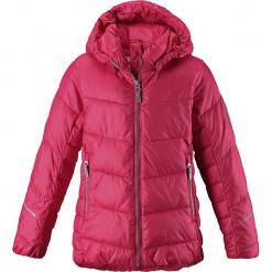 """Kurtka zimowa """"Malla"""" w kolorze jasnoróżowym. Czerwone kurtki dziewczęce zimowe marki Reserved, z kapturem. W wyprzedaży za 237,95 zł."""