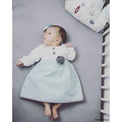 Sukienki niemowlęce: Sukienka Niemowlęca Miętówka