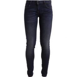 Kaporal LOKA Jeansy Slim Fit biker. Niebieskie jeansy damskie Kaporal, z bawełny. W wyprzedaży za 231,20 zł.