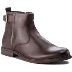 Kozaki BIG STAR - BB174256 Brown. Brązowe buty zimowe męskie BIG STAR, z materiału. W wyprzedaży za 199,00 zł.