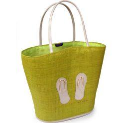Duża torba plażowa Flip Flop. Zielone torby plażowe Astratex. Za 122,99 zł.