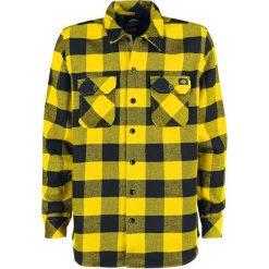 Dickies Sacramento Koszula czarny/żółty. Szare koszule męskie marki Dickies, na zimę, z dzianiny. Za 199,90 zł.