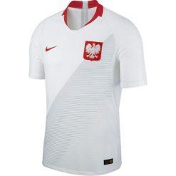 Koszulki do piłki nożnej męskie: Nike Koszulka męska Reprezentacji Polski Vapor Match JSY Home biała r. S (922939-100)